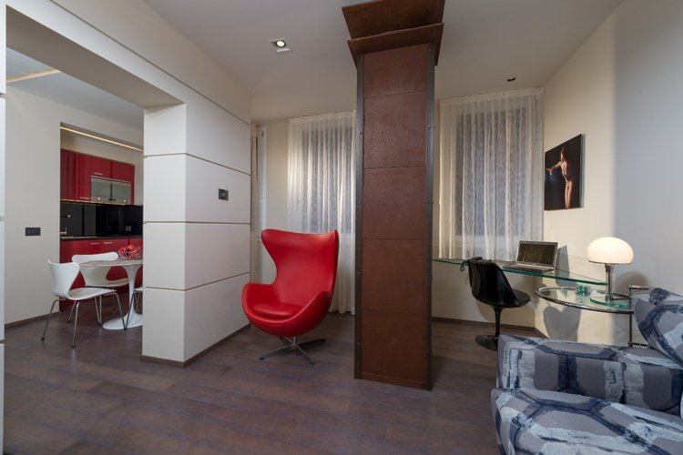 Luxury apartments  art hotel commercianti bologne