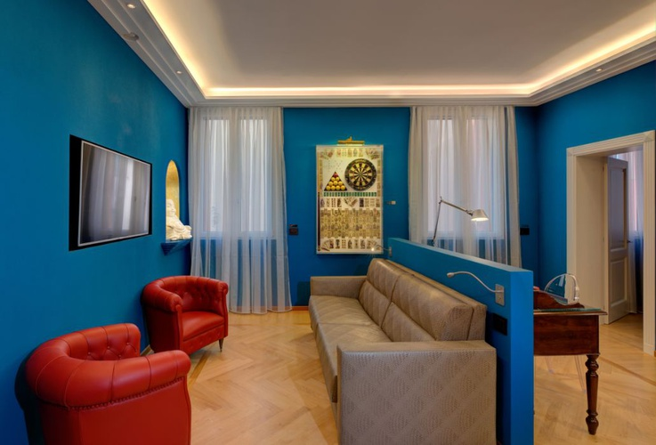 Luxury apartments battibecco  art hotel commercianti bologne